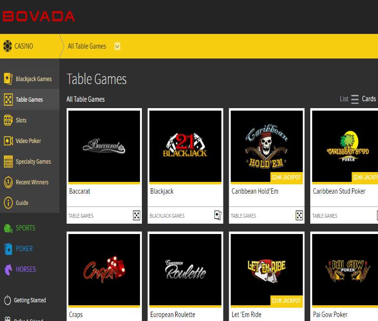 Bovada Casino | Online Casinos For USA Players